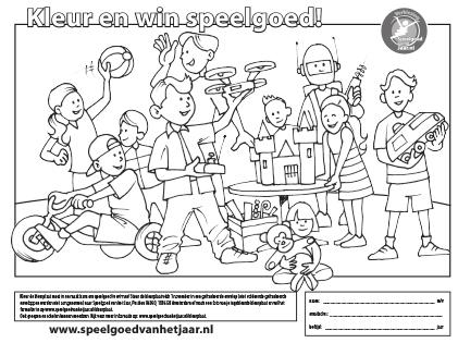 Kleurplaten Speelgoed Dokter.Speelgoed Genomineerd Voor 4 5 Jaar
