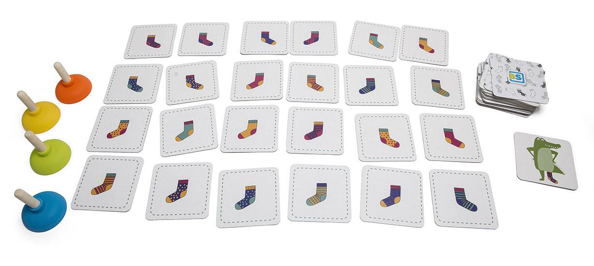 Crocs socks spel
