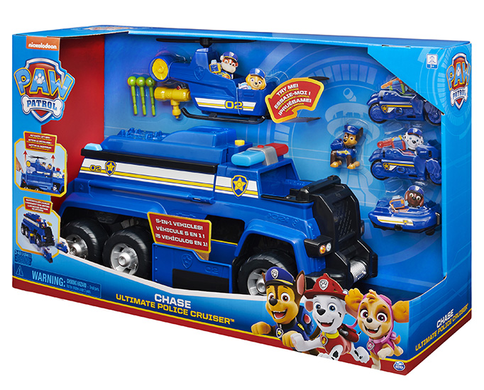 Review paw patrol ultimate police cruiser